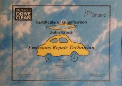 Certificate of Qualification-John Kraus-1