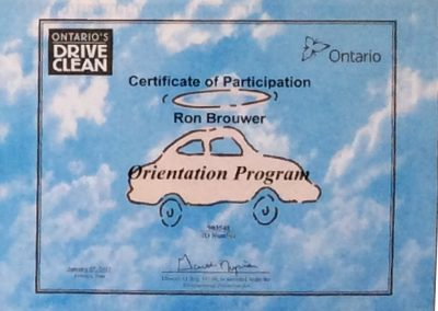 Certificate of Qualification-Ron Brouwer-1