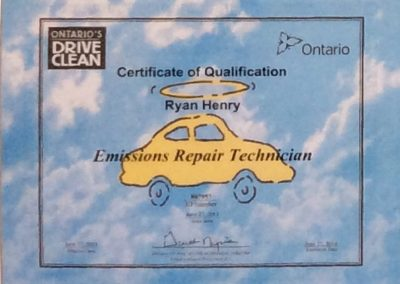 Certificate of Qualification-Ryan Henry-3