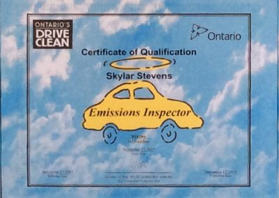 Certificate of Qualification-Skylar Stevens-1
