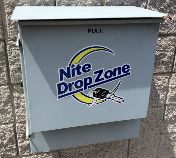 Nite Drop Zone Box for 24 hour key drop off